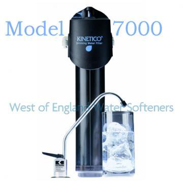 Kinetico's Reverse Osmosis Drinking Water System Plus Deluxe Kinetico's Reverse Osmosis Drinking Water System Plus Deluxe features the MACguard® filter shutoff.